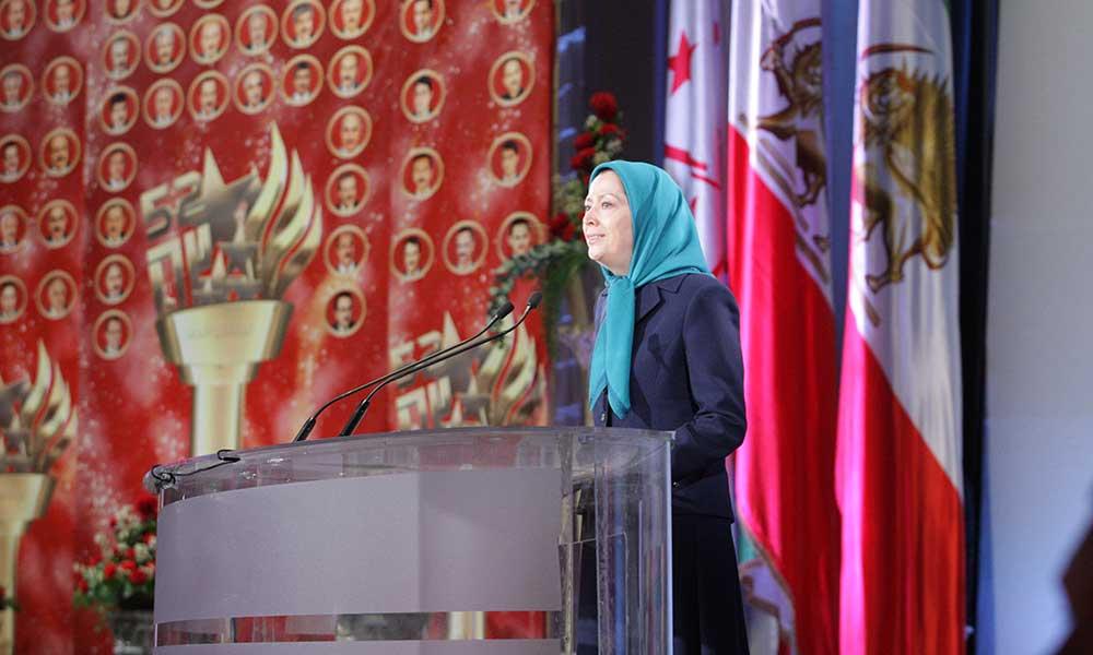 كلمة مريم رجوي في المؤتمر الدولي في باريس