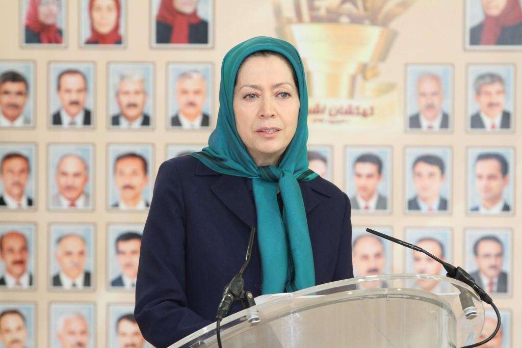 مريم رجوي: في مؤتمر التضامن لنواب البرلمان الاردني مع المقاومة الايرانية