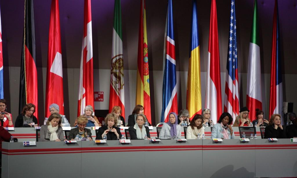 كلمة مريم رجوي في مؤتمر إحياء يوم المرأة العالمي