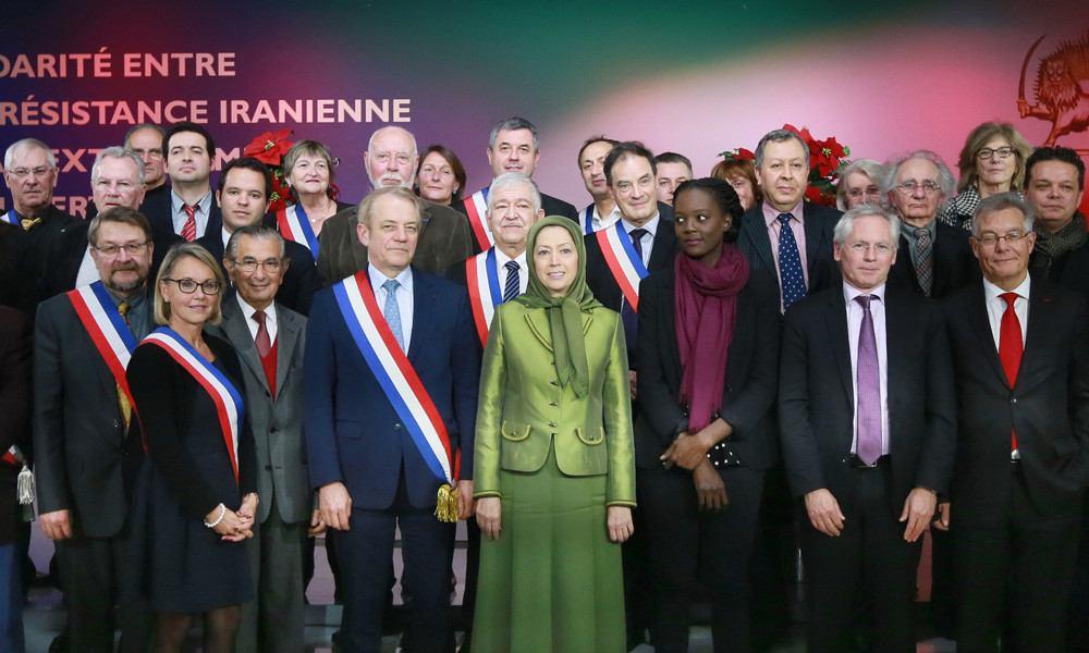 اجتماع «تضامن المنتخبين الفرنسيين مع المقاومة الإيرانية بوجه التطرف المغطى بالإسلام»