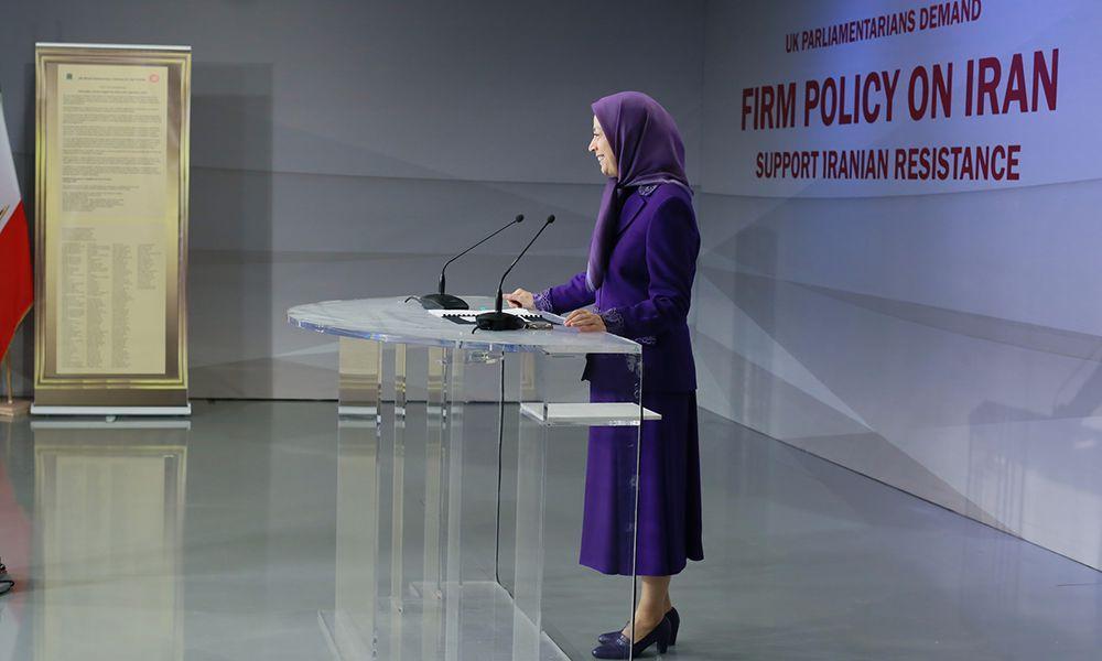 مؤتمر «سياسة الحزم ضد النظام الايراني، حماية للمقاومة الإيرانية» بمشاركة عدد من نواب البرلمان والشخصيات البريطانية