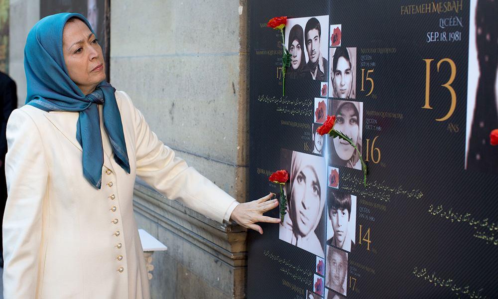 مريم رجوي: إنهضوا بوجه سياسة الإعدام والقتل لنظام ولاية الفقيه رسالة لمناسبة اليوم العالمي لمناهضة عقوبة الاعدام