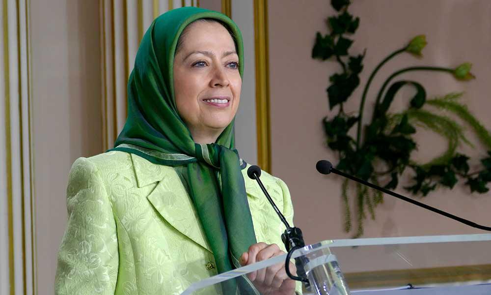 لقاء مريم رجوي بمنتخبي الشعب الفرنسي وحماة المقاومة الايرانية من الفرنسيين