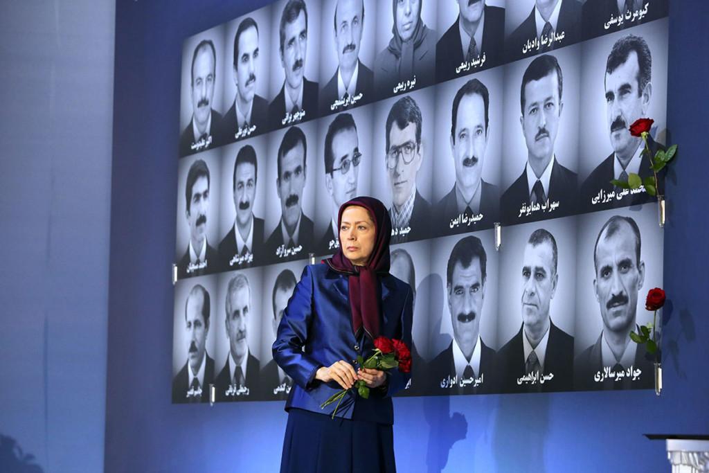 كلمة مريم رجوي في الذكرى الثانية لاستشهاد 24 مجاهدا بطلا في قصف ليبرتي بالصواريخ في 29 اكتوبر2015