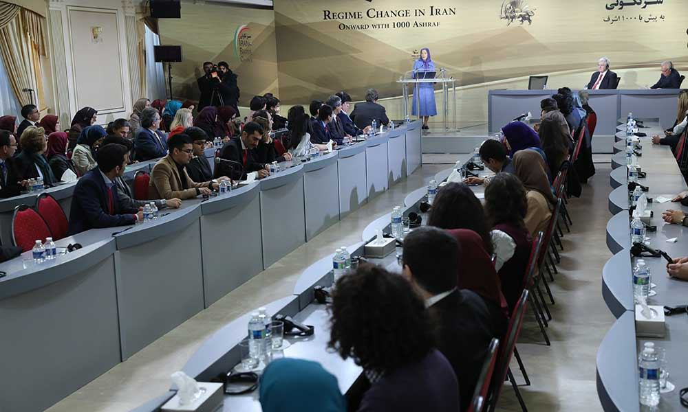 مريم رجوي : انتفاضة إيران، بداية مرحلة التقدم والزحف