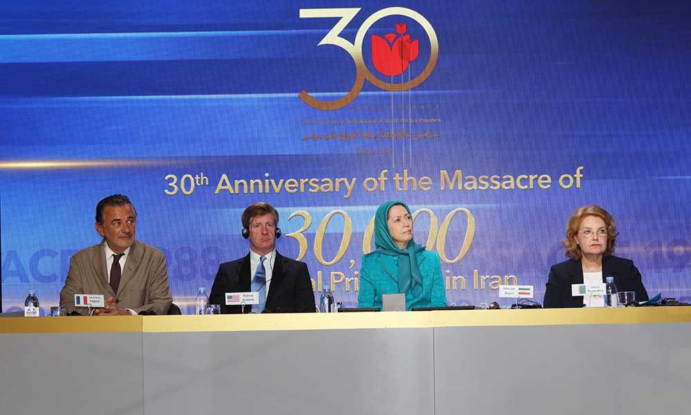 مريم رجوي تدعو مجلس الأمن الدولي إلى محاكمة مسؤولي مجزرة 1988 وجرائم أخرى ارتكبت في إيران منذ أربعة عقود