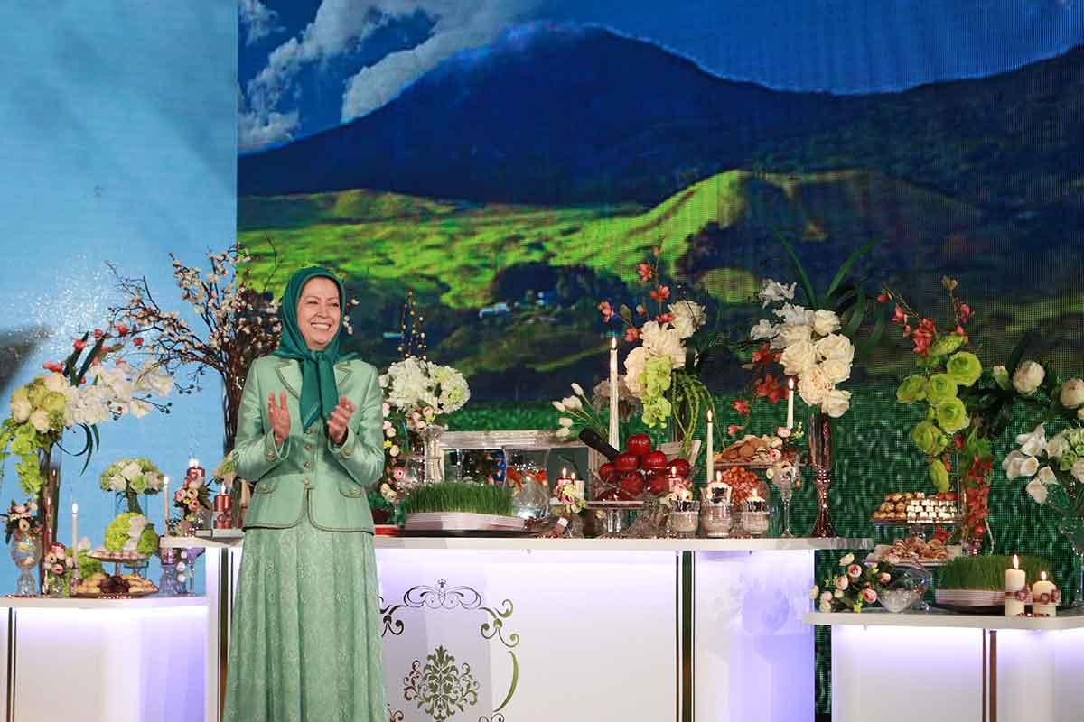 نوروز الثورة والحرية- كلمة مريم رجوي بمناسبة النوروز وبداية العام الإيراني الجديد (1398)-21 مارس 2019