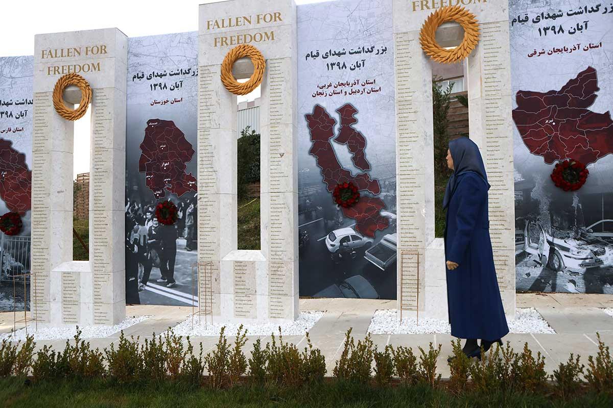 مريم رجوي: الشعب الإيراني بكامل أطيافه وأعراقه متحد ومتلاحم في إسقاط النظام