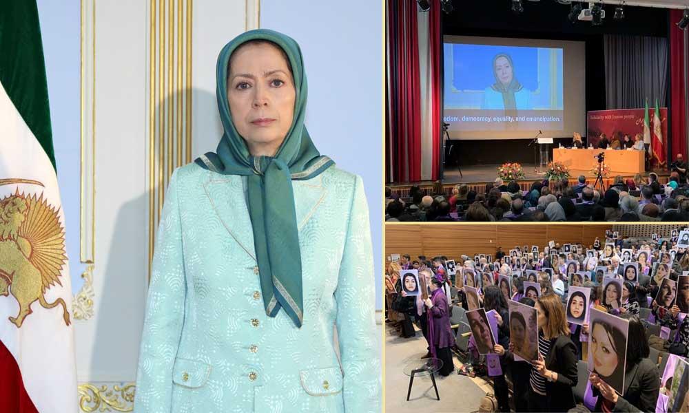 مريم رجوي: نعلن اليوم العالمي للمرأة لهذا العام يوم شهيدات انتفاضة نوفمبر