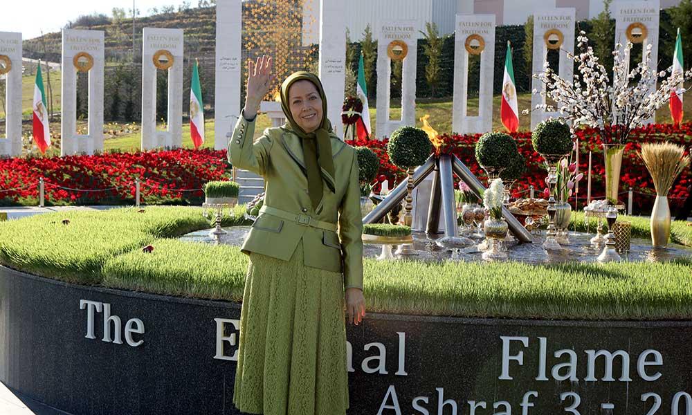 مريم رجوي: مبارك عليكم نوروز شهداء الانتفاضة في المعركة المصيرية للشعب الإيراني ضد وباء ولاية الفقيه