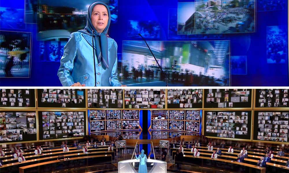 ما هي الالتزامات الكبيرة الثلاثة للمقاومة الإيرانية؟