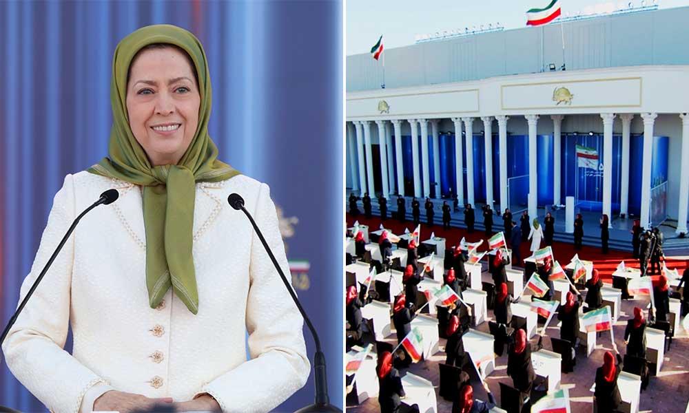 مریم رجوي: حياة منظمة مجاهدي خلق على مدى 55 عامًا عجينة مع معاناة الشعب الإيراني ومطلبه من أجل الحرية والعدالة!