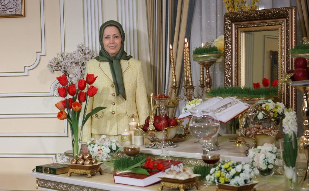 مريم رجوي: دقات ساعة حلول العام الإيراني الجديد، هي خطوات المنتفضين من أجل إسقاط الاستبداد الديني
