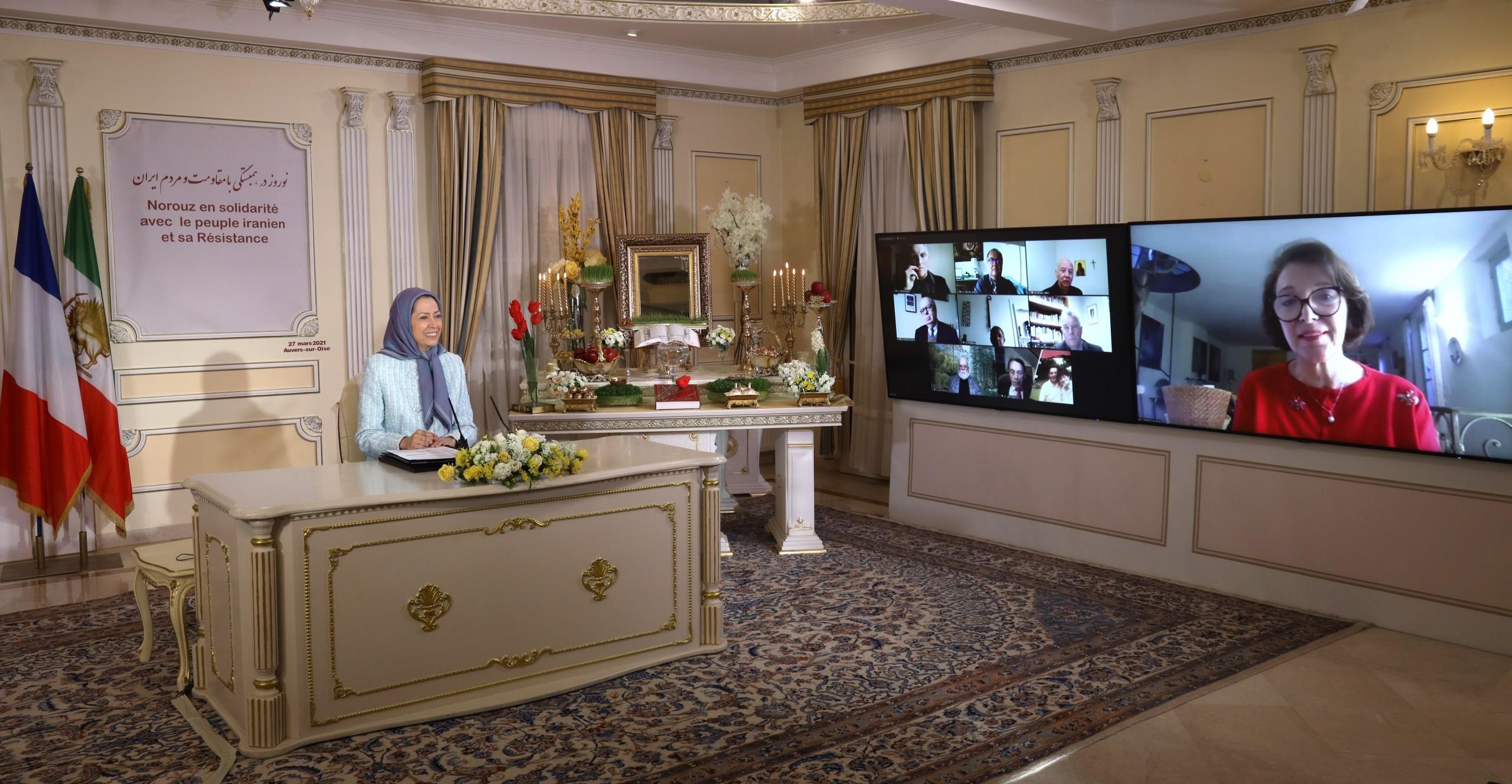 مريم رجوي: يتوقع الشعب الإيراني من أوروبا، اعتماد سياسة حاسمة تجاه النظام الإيراني والدفاع عن حقوق الإنسان