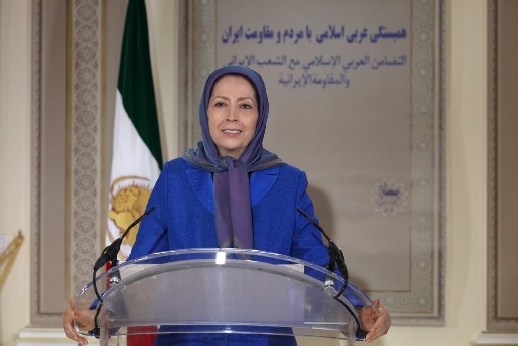 مريم رجوي: الملالي الحاكمون في إيران هم أعداء جميع الأديان السماویة وجميع المذاهب الإسلامية
