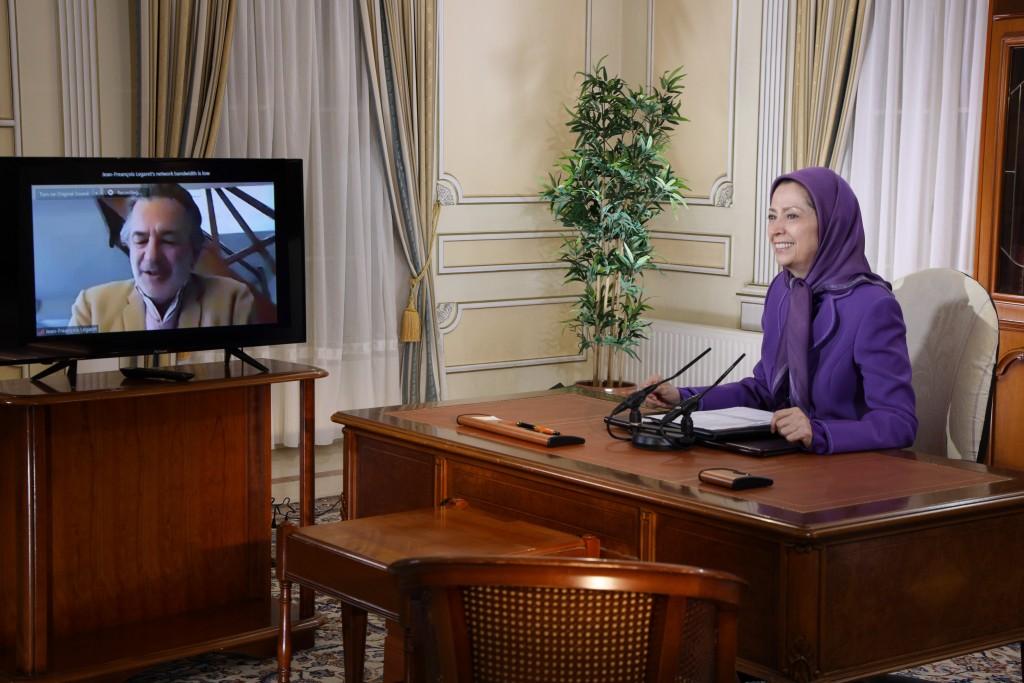 لقاءات مريم رجوي في بداية العام الإيراني الجديد