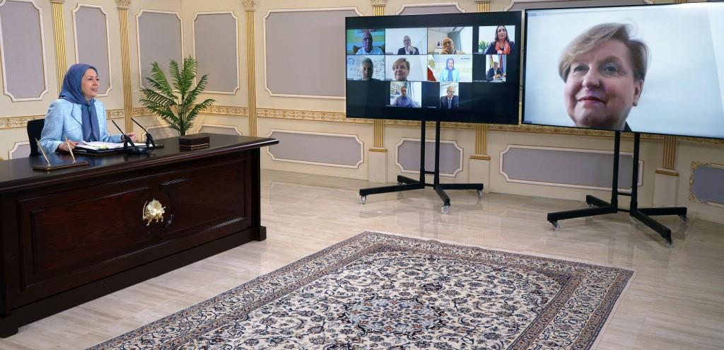 مريم رجوي: تدهور أوضاع حقوق الإنسان في إيران وواجب الاتحاد الأوروبي