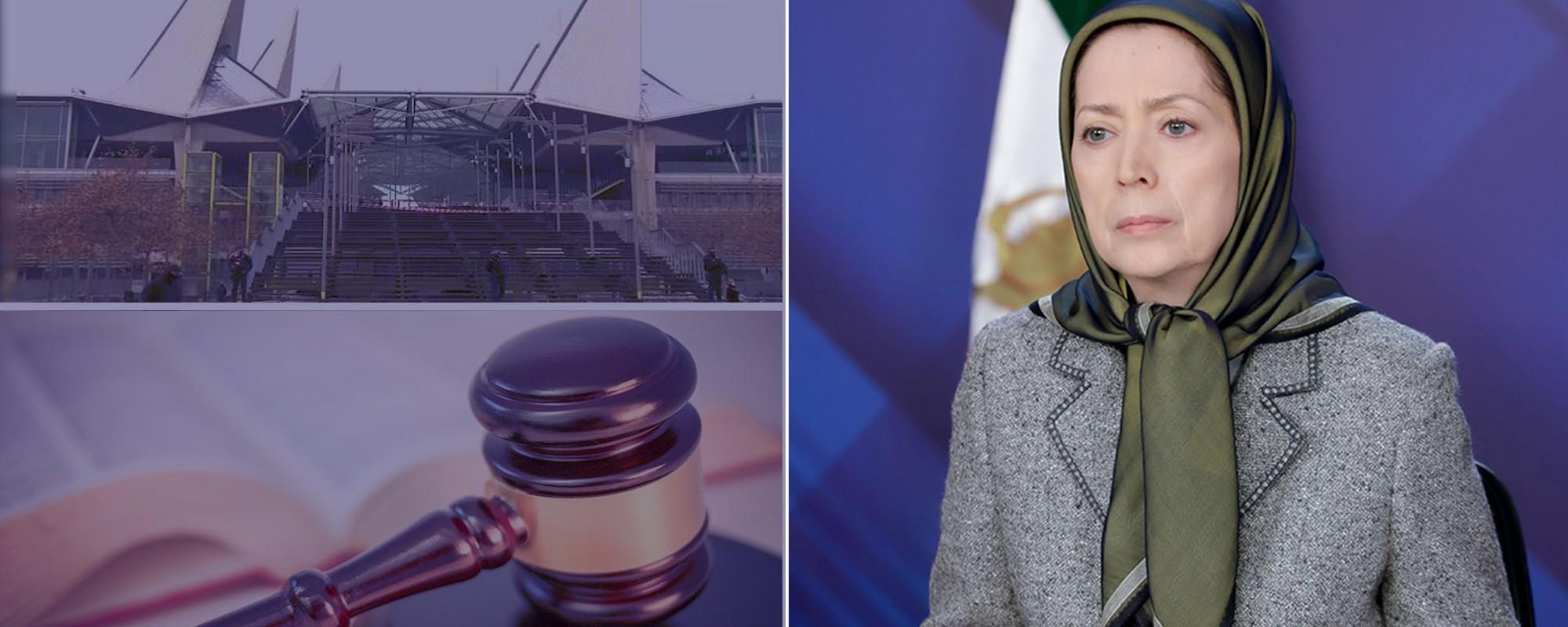 مريم رجوي: يجب إدراج وزارة المخابرات وقوات الحرس في قائمة الإرهاب