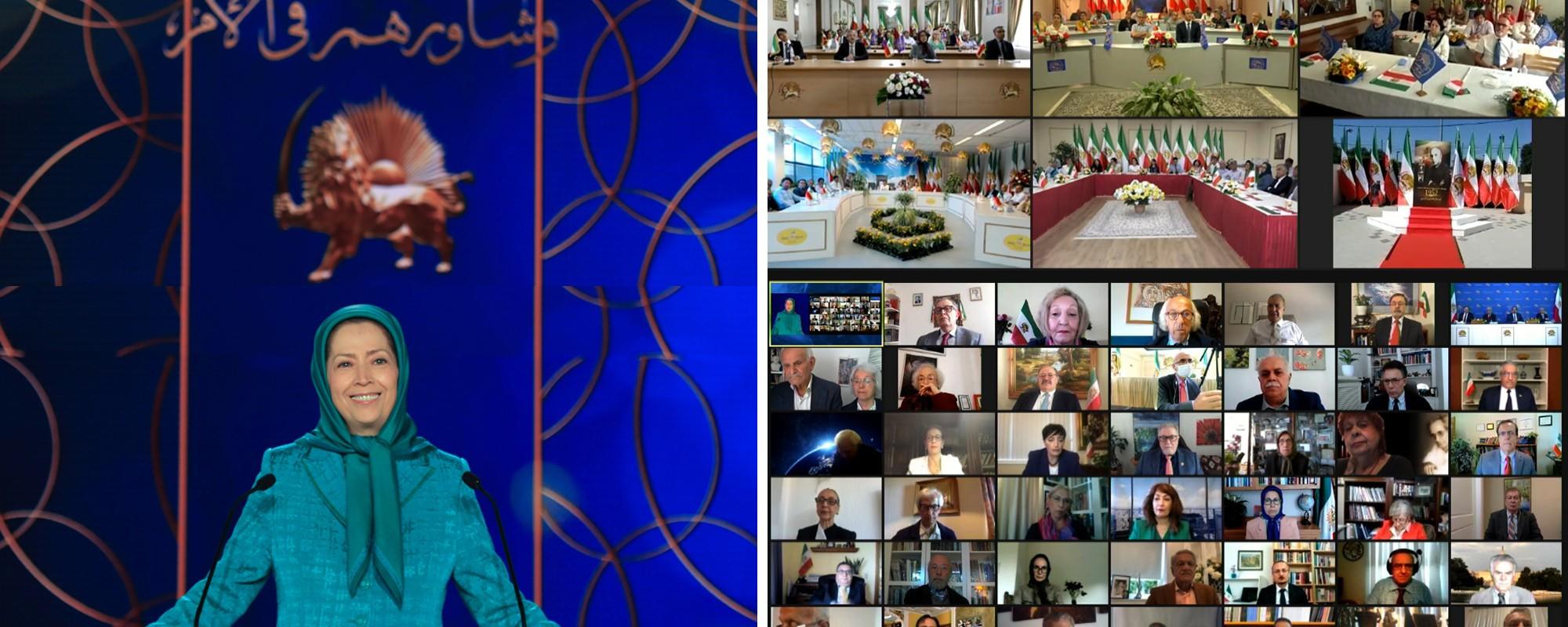 كلمة بمناسبة الذكرى الأربعين لتأسيس المجلس الوطني للمقاومة الإيرانية