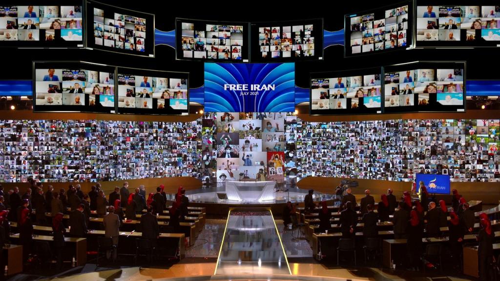 اليوم الأول للمؤتمر السنوي العام للمقاومة الإيرانية 2021