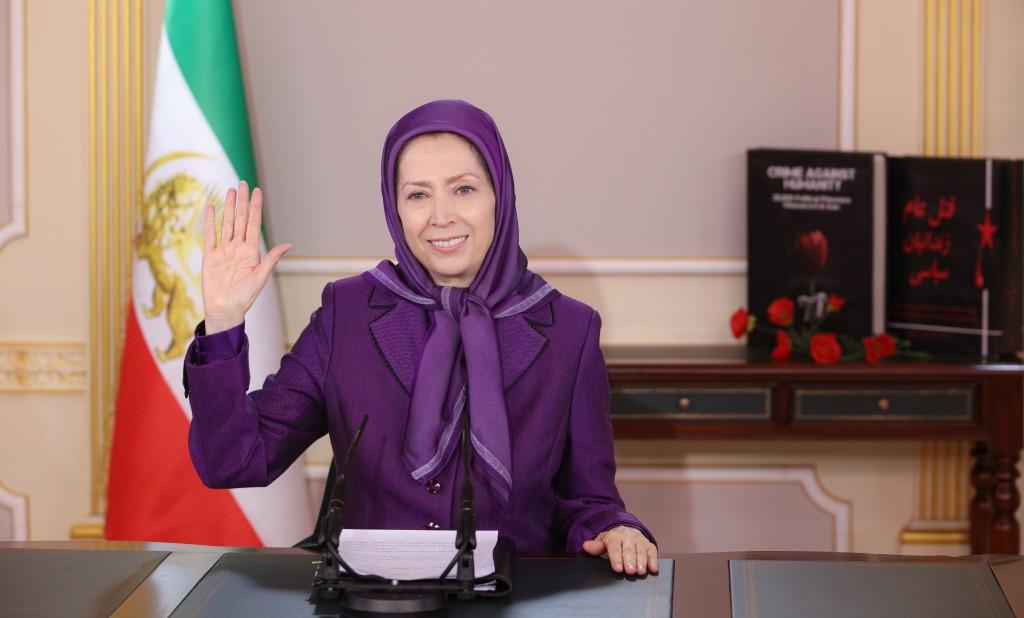 مريم رجوي: حركة المقاضاة أفشلت سیاسة الصمت والمهادنة حیال النظام