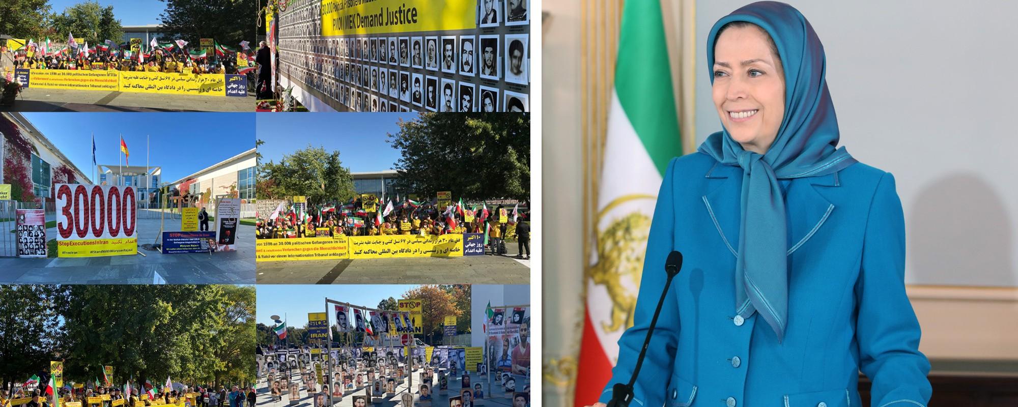 رسالة مريم رجوي لمناسبة اليوم العالمي لمناهضة عقوبة الإعدام
