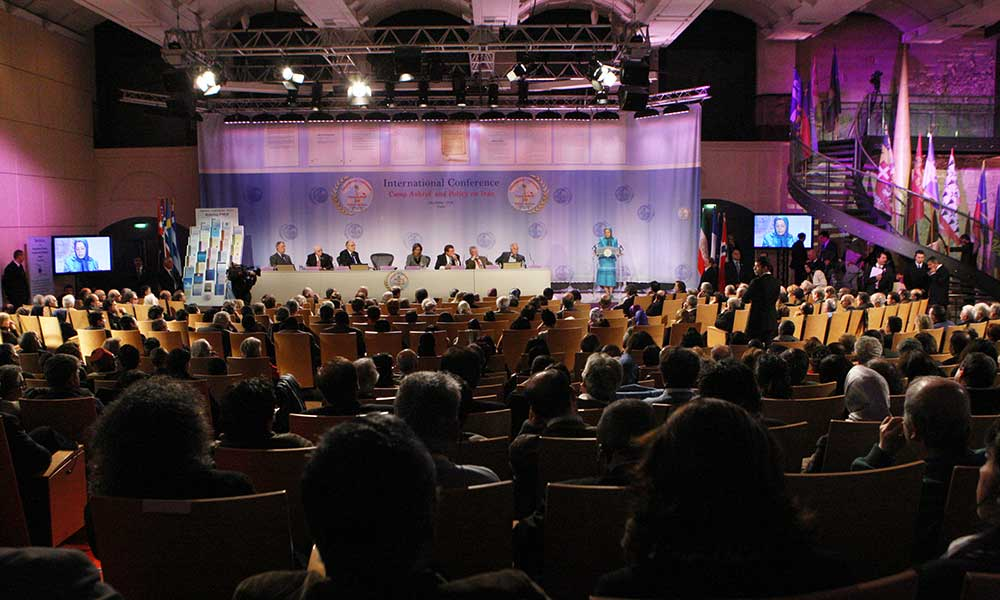 Speech in international conference in Paris