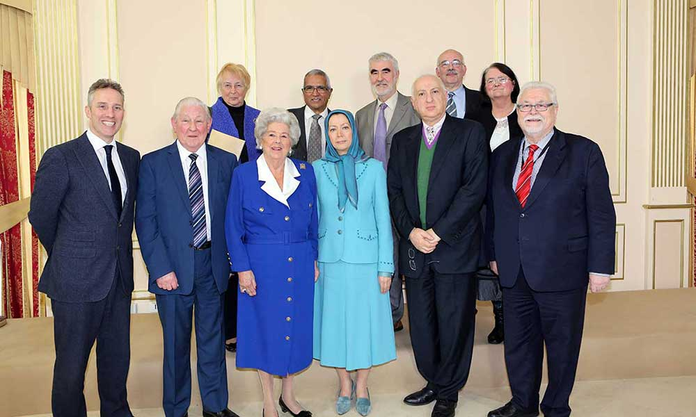 Speech of Maryam Rajavi at the conference with distinguished British House members
