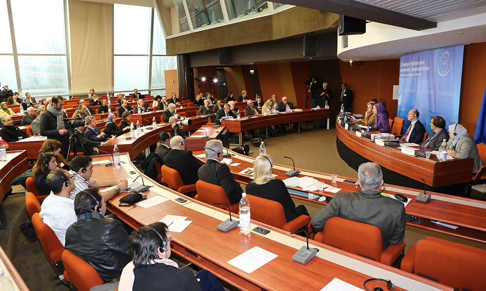 Conference at the Council of Europe -Crisis of terrorism and fundamentalism Roots, Solutions, Role of Iranian Regime