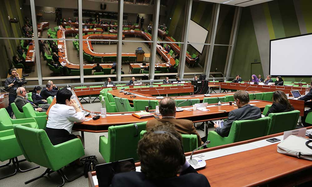 Maryam Rajavi at the hearing of ALD group session in the Council of Europe