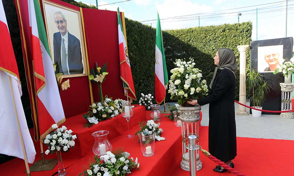 Remarks by Maryam Rajavi at the Memorial Ceremony for the Great Artist Andranik Assatourian