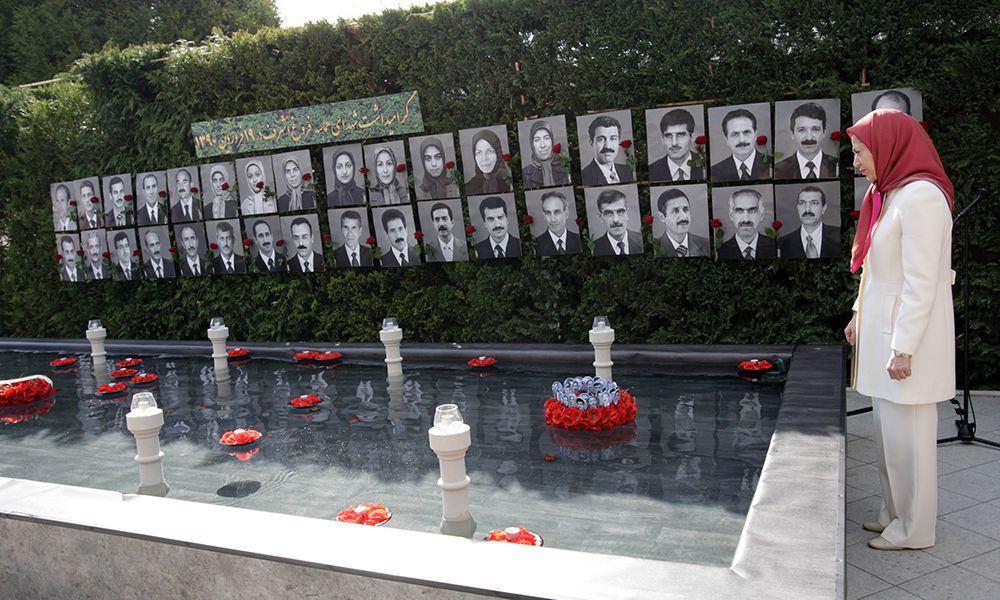 Paris – Commemoration of April 8, 2011 massacre in Ashraf 12 April 2015