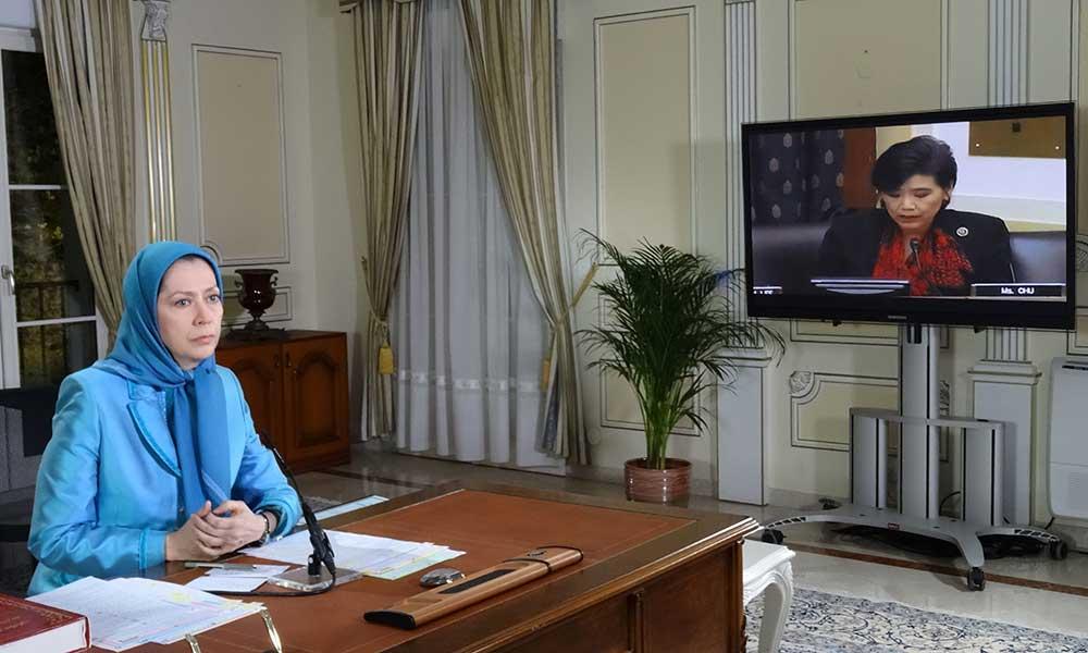 Text of Testimony by Maryam Rajavi