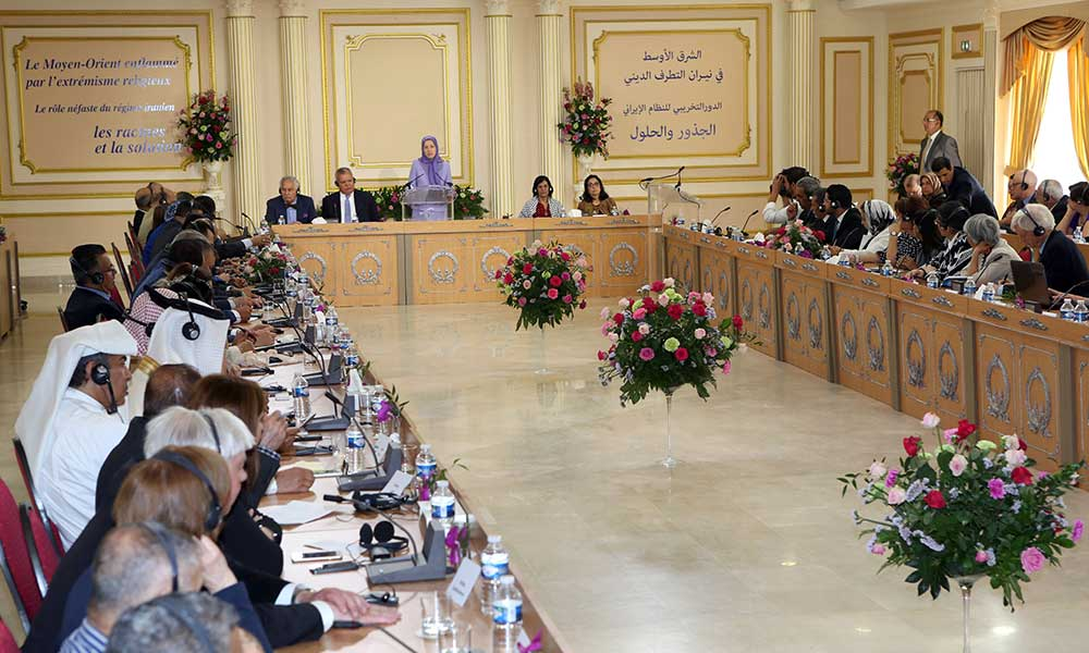 Maryam Rajavi: The solution to the crisis is eviction of mullahs regime from the whole region by putting an end to it in Iran