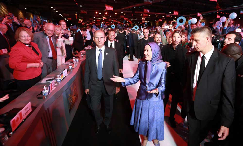 Maryam Rajavi: A democratic, non-nuclear Iran with the overthrow of the religious dictatorship