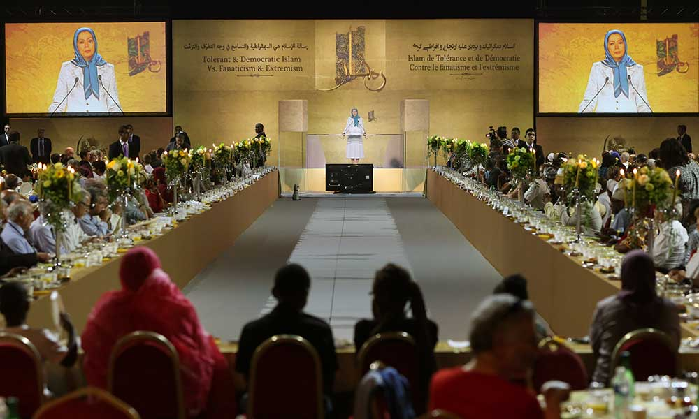 Maryam Rajavi's remarks at the conference entitled, Democratic and Tolerant Islam against Fundamentalist, Religious