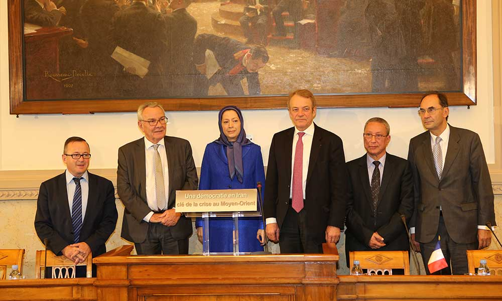 Maryam Rajavi: Freedom in Iran, the solution to crisis and instability in the Middle East