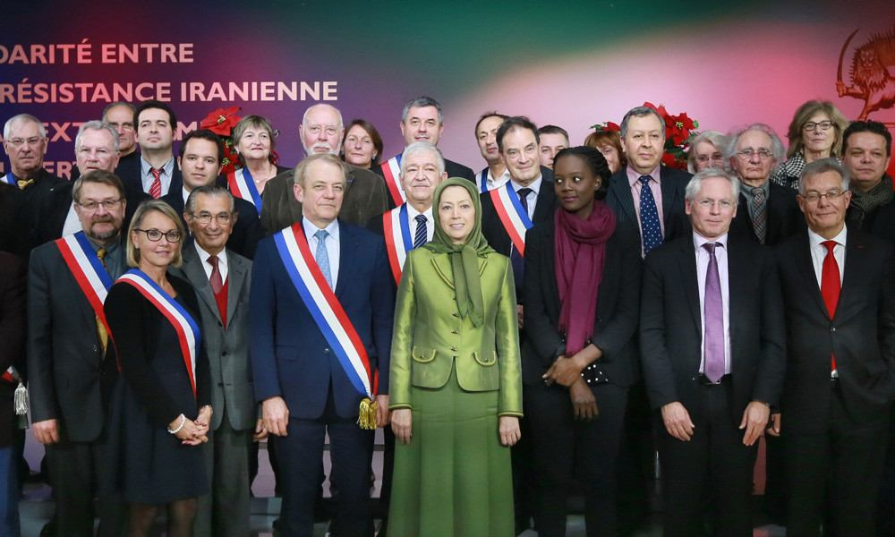 Solidarity of France's Elected Representatives with Iranian Resistance against Extremism under Banner of Islam