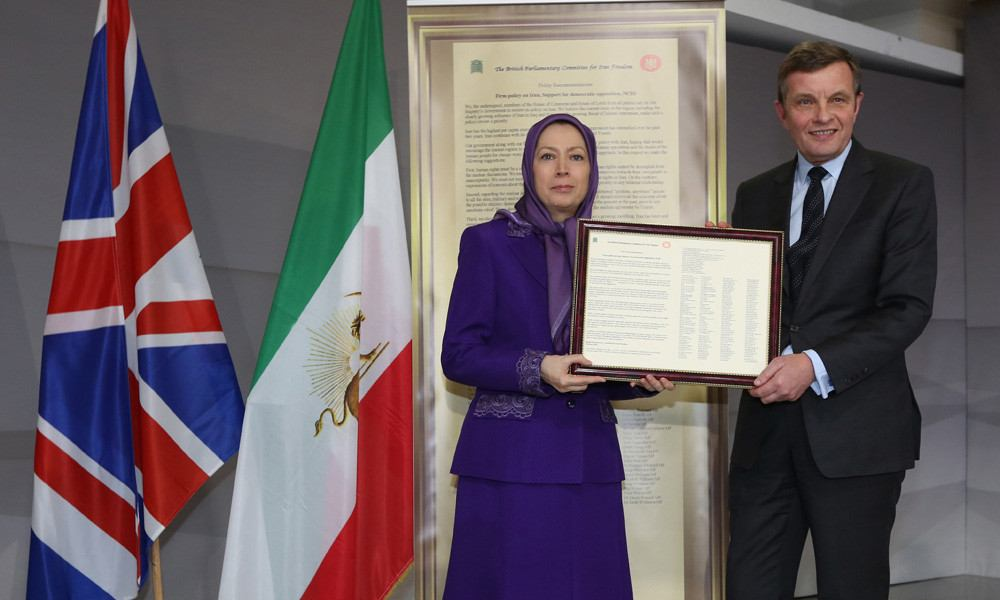 Cross party UK parliamentary delegation meets Iran's opposition leader
