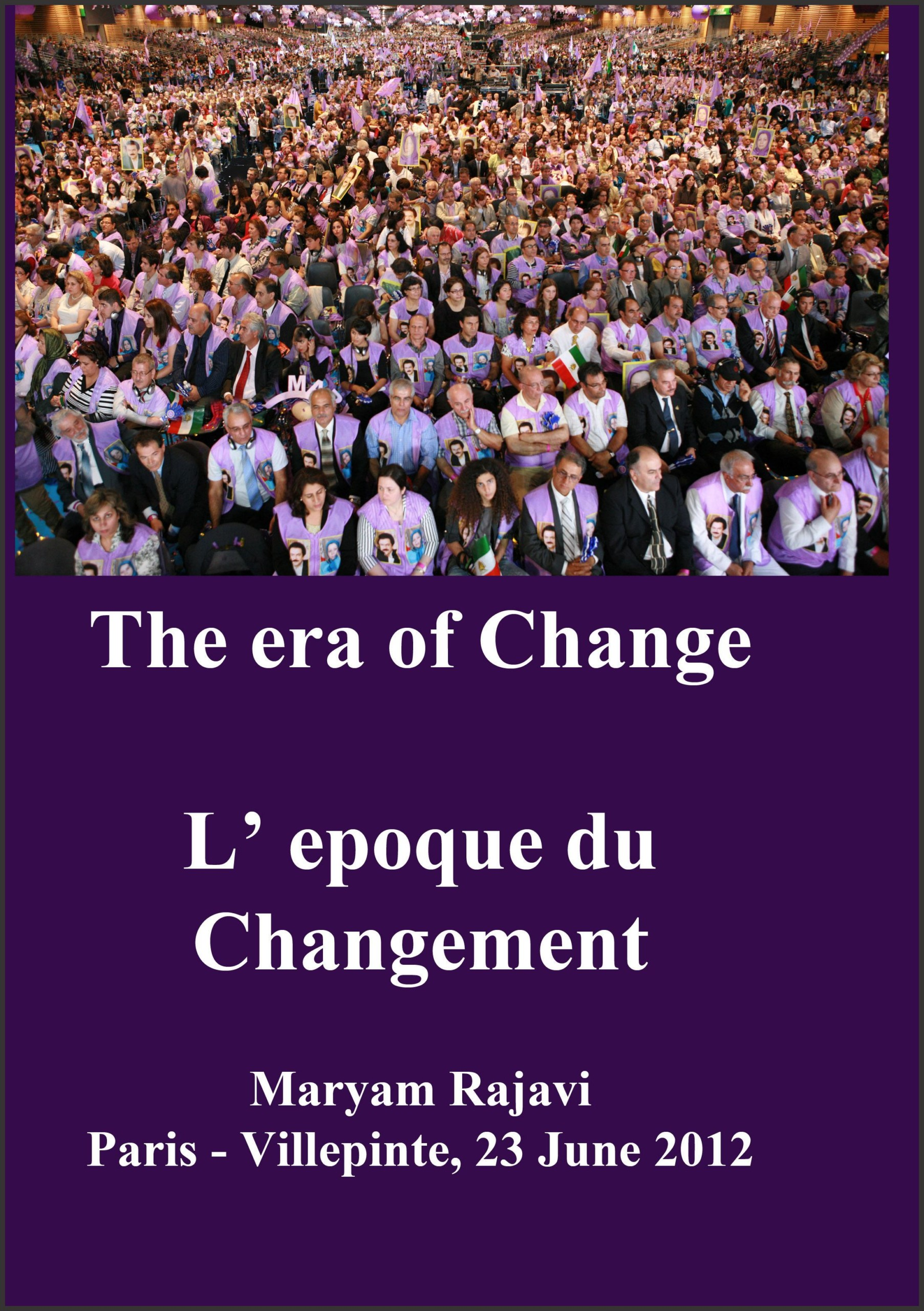 cover Maryam rajavi the era of change 1