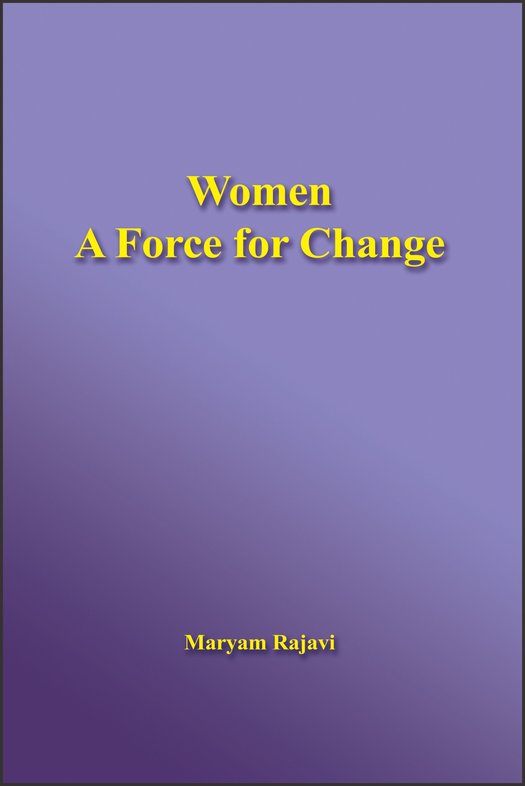 cover Women a force of change 1