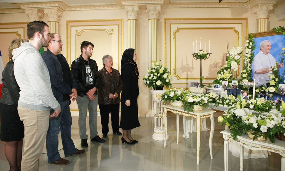 Commemorating Victor Gulotta, friend and great supporter of the Iranian Resistance