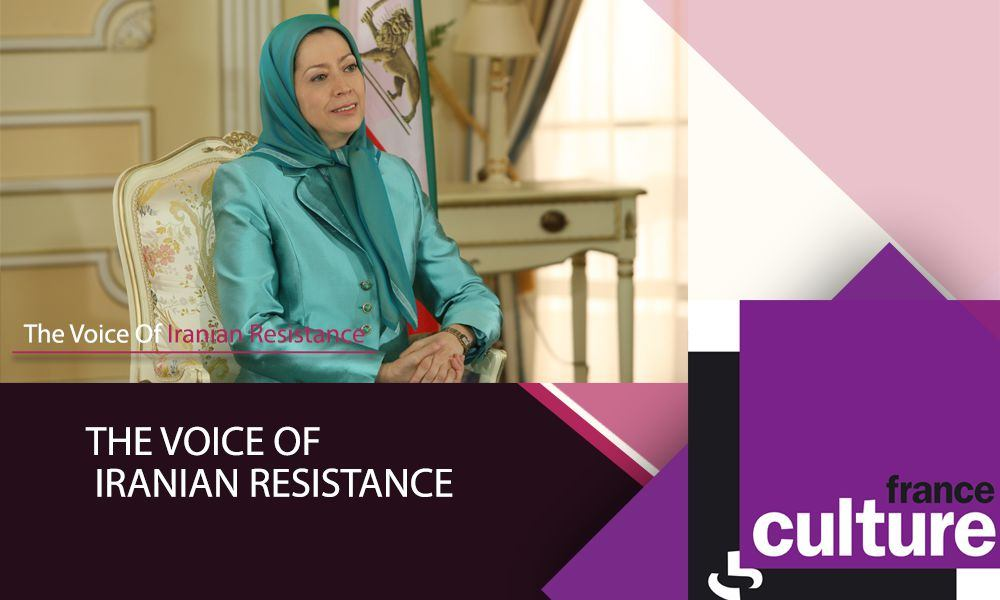 France Culture Radio interviews Maryam Rajavi: The voice of Iranian Resistance