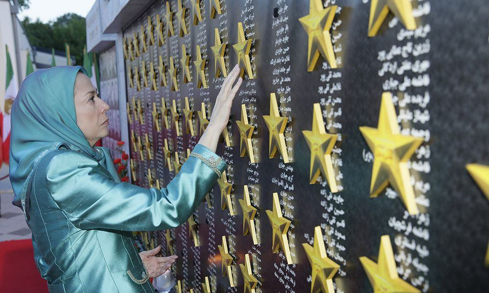 Paying homage to those who sacrificed their lives for freedom in Iran