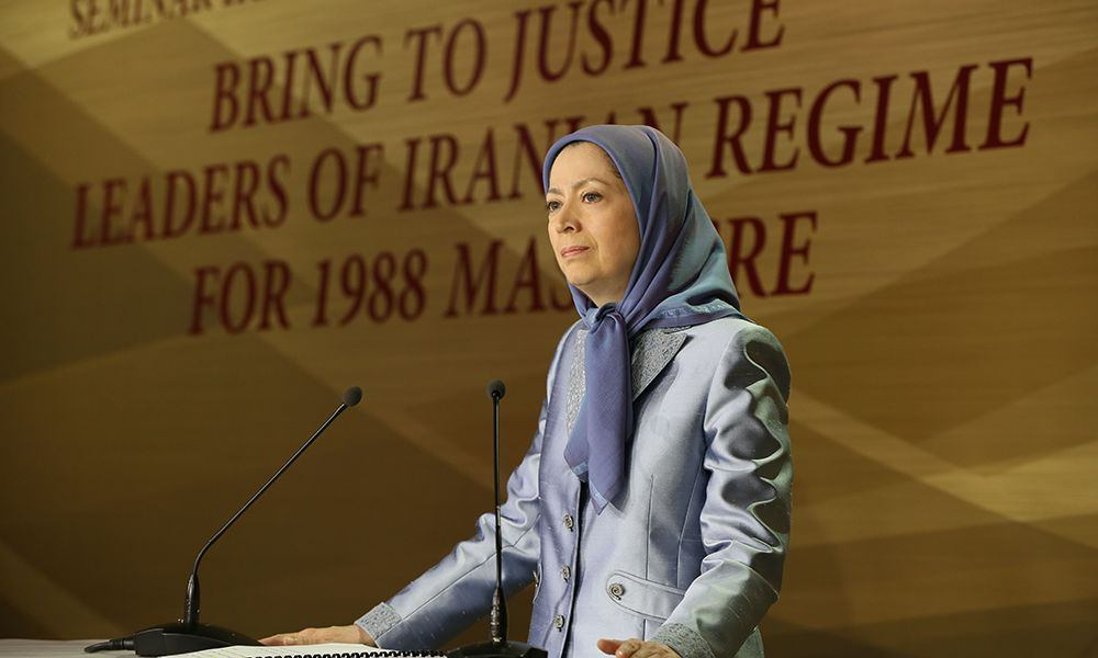Maryam Rajavi: Iranian regime's leaders must be prosecuted for the 1988 massacre- Speech at the seminar of Iranian communities in Europe- September 3, 2016