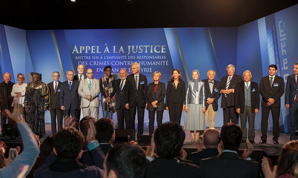 Maryam Rajavi: The international community must end its silence and inaction vis-à-vis the mullahs' crimes in Iran and the region
