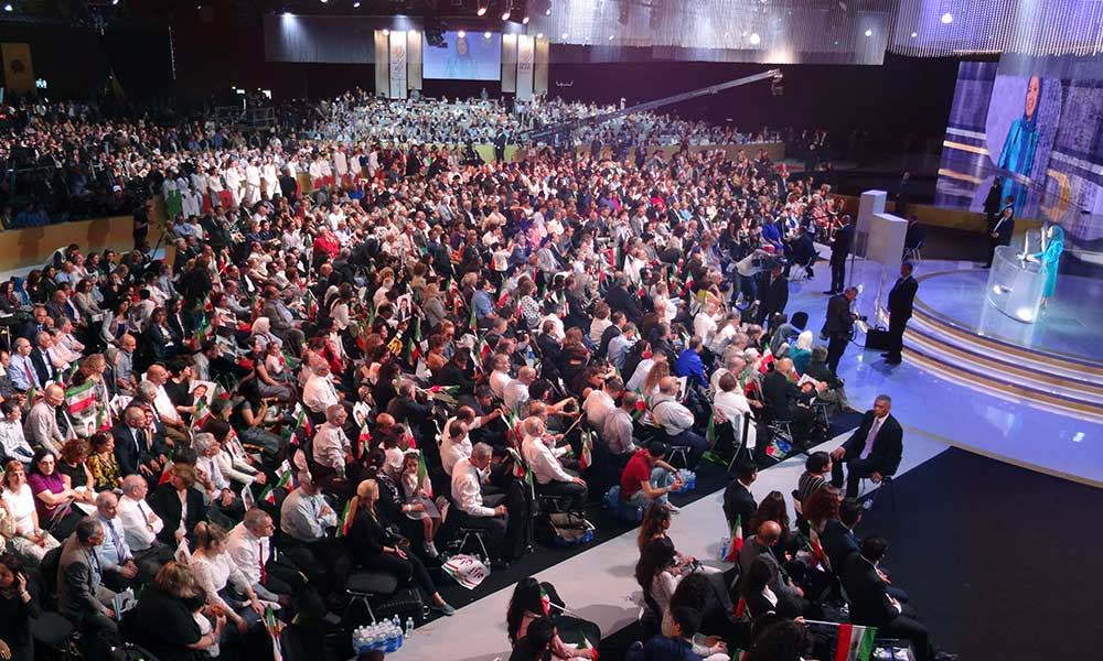 A report on the grand gathering of the Iranian Resistance in Paris