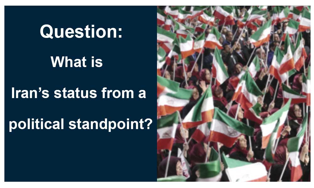 Question: what is Iran's status from a political standpoint?