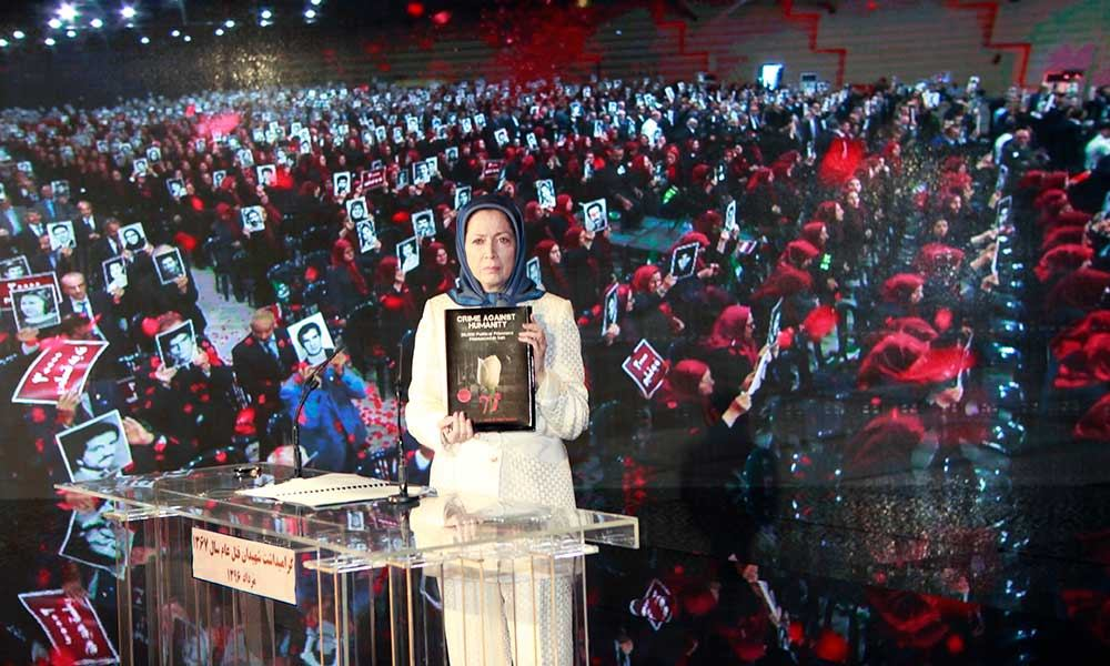 Seeking justice for victims of 1988 massacre is indispensable for the Iranian nation's campaign to overthrow the regime in Iran