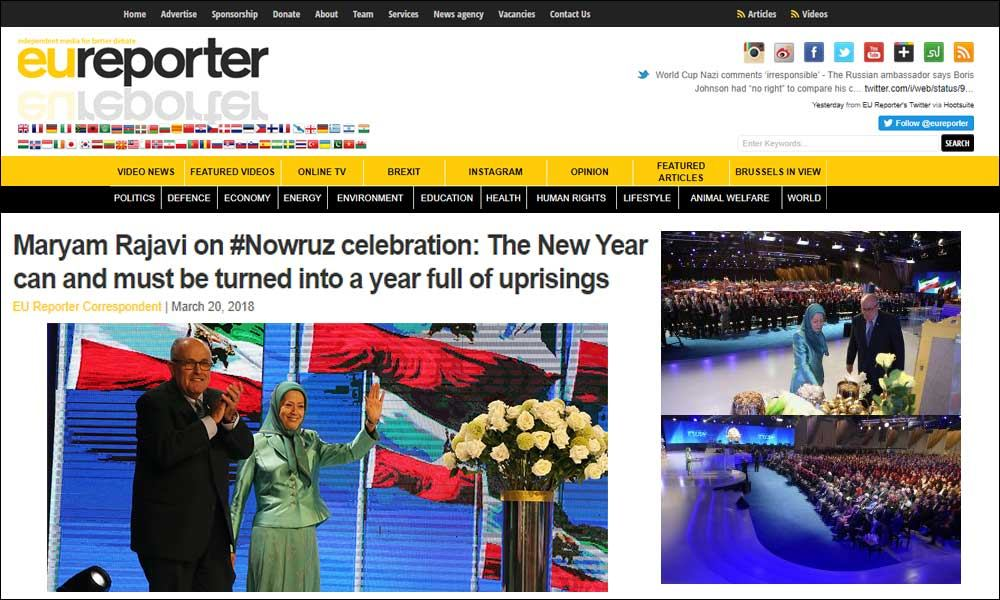 Maryam Rajavi on #Nowruz celebration: The New Year can and must be turned into a year full of uprisings